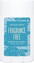 Parfüm, Parfüméria, kozmetikum Természetes dezodor - Schmidt's Deodorant Sensitive Skin Fragrance Free Stick