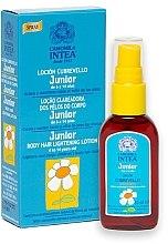 Parfüm, Parfüméria, kozmetikum Testszőrzet világosító folyadék kamilla kivonattal tiniknek - Intea Premium Junior Body Hair Lightening Spray With Natural Camomile Extract