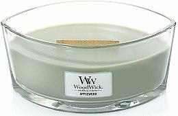 Parfüm, Parfüméria, kozmetikum Illatgyertya pohárban - WoodWick Hearthwick Flame Ellipse Candle Applewood