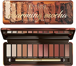Parfüm, Parfüméria, kozmetikum Szemhéjfesték paletta - Eveline Cosmetics Charming Mocha Eyeshadow
