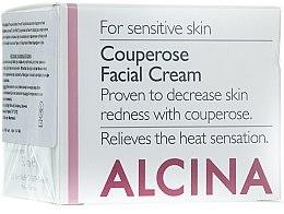 Parfüm, Parfüméria, kozmetikum Krém bőrpír ellen - Alcina S Couperose Facial Cream