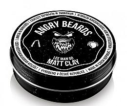 Parfüm, Parfüméria, kozmetikum Agyag hajra - Angry Beards Lee Man Go Matt Clay