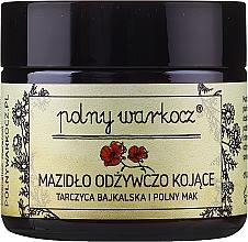 """Parfüm, Parfüméria, kozmetikum Kenőcs """"Bajkál Skullcap és mezei mák"""" - Polny Warkocz Nourishing Soothing"""
