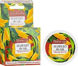 """Parfüm, Parfüméria, kozmetikum Kézápoló vaj """"Tápláló banán"""" - Bielenda Hand Butter Nourishing Banana"""
